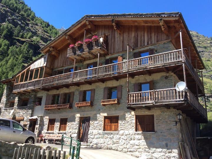 Casa con vista a Valgrisenche
