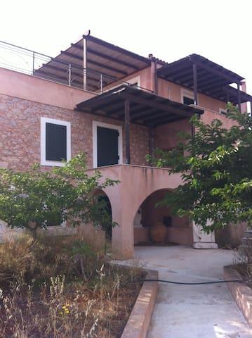 Real Village Greek House Malvasia style.