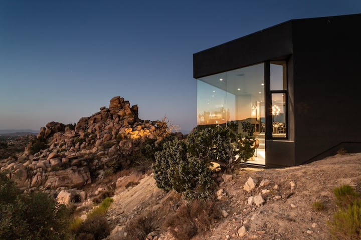 Black Desert House...Featured in Architectural Digest