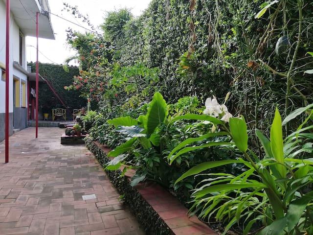 Casa Confortable con Jardín Interior