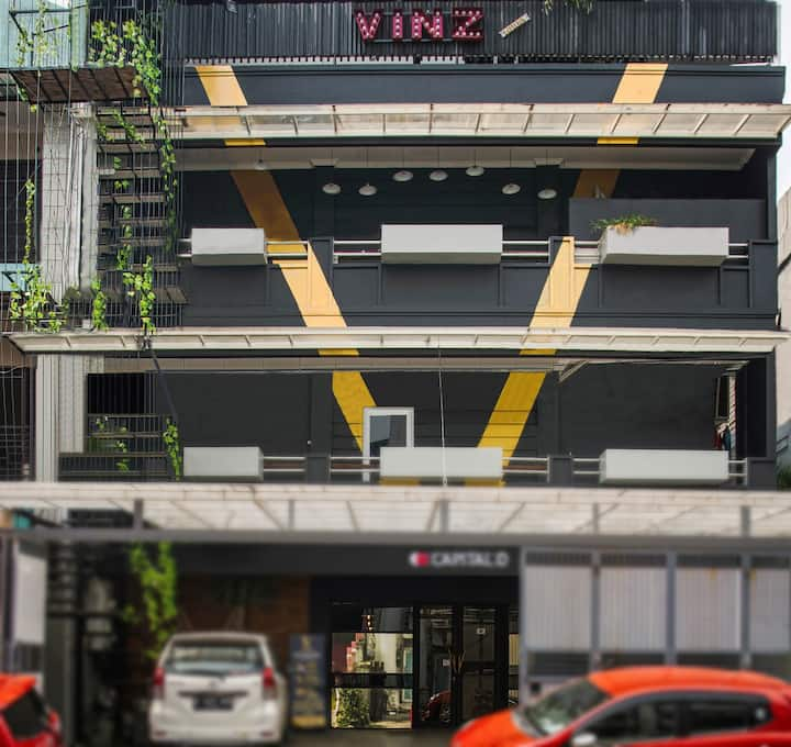 Vinz Pavillion very comfort and unique Hotel
