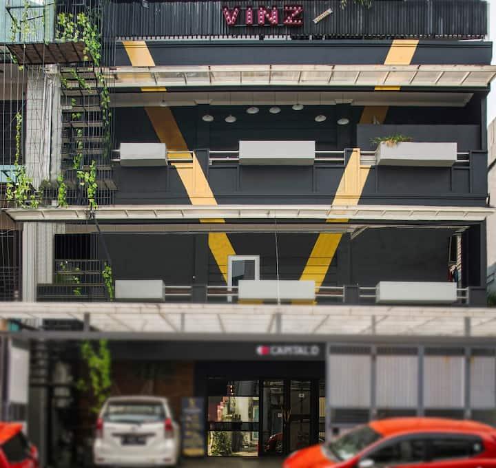 Vinz Pavillion very comfort and unique Hotel