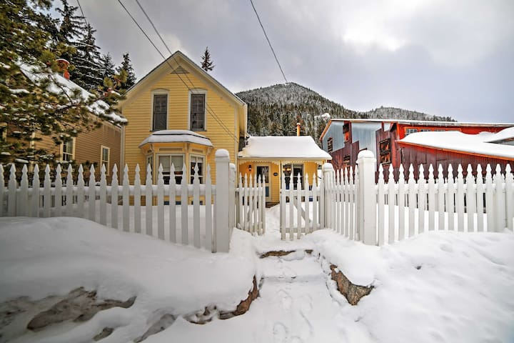 NEW! Victorian 3BR Georgetown House - Walk to Town! - Georgetown - House
