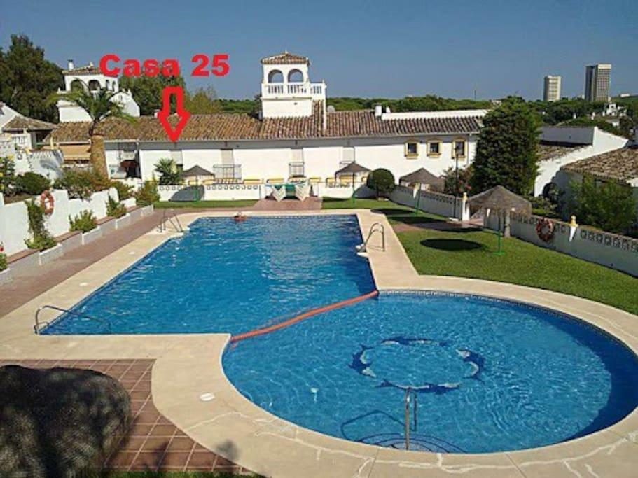 Localización Casa 25