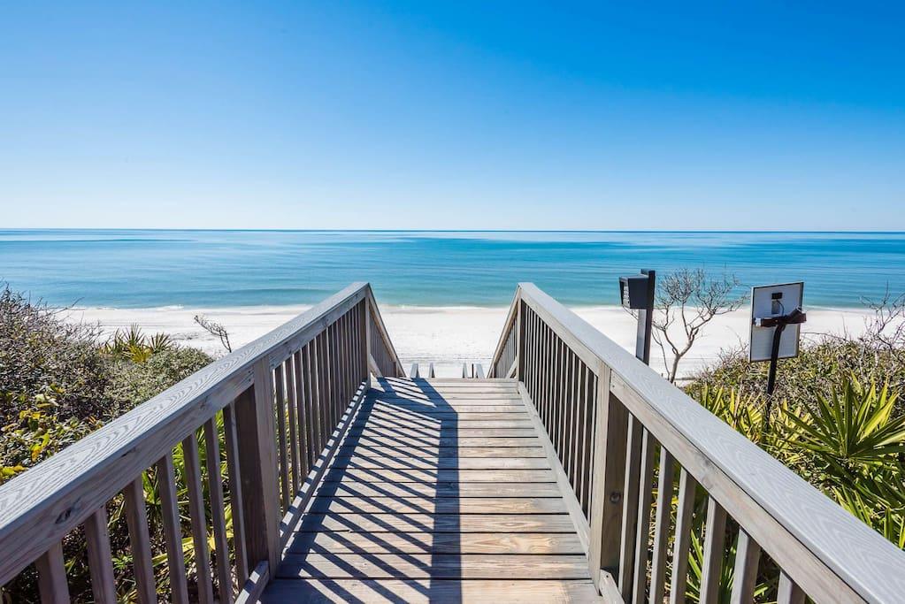 Beach Access Stairway