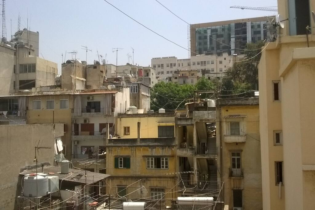 View on Achrafieh Hill