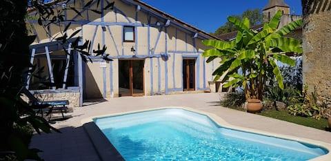 Gite de charme avec piscine privée