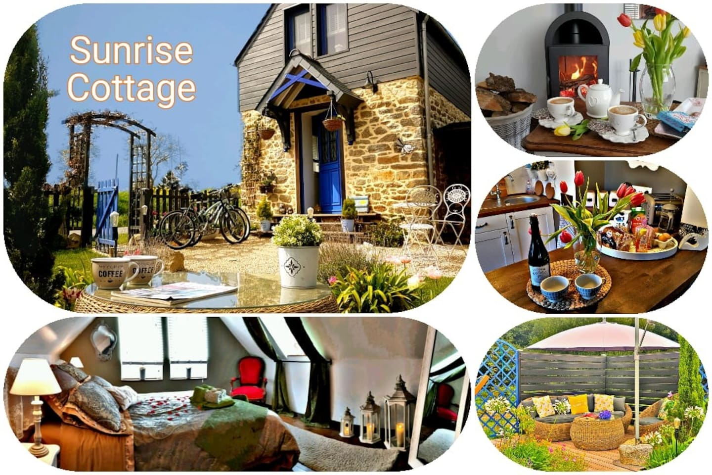 Feel at Home and enjoy , bienvenue in Sunrise Cottage