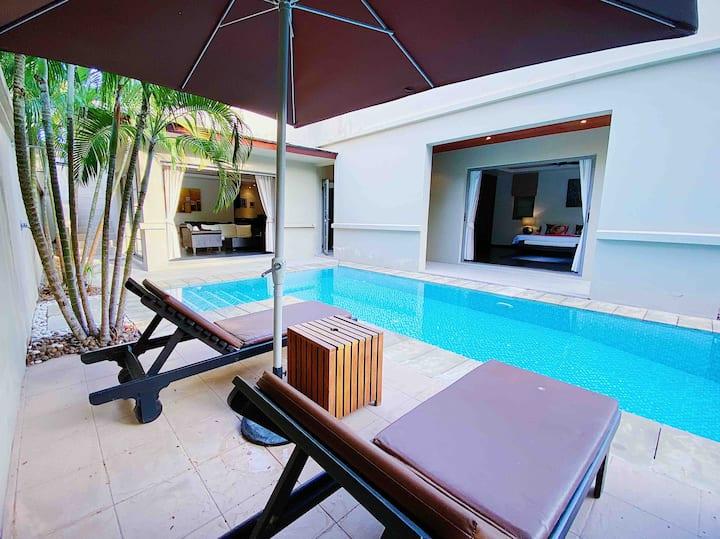 Great 2BR pool villa walk to Bangtao beach 5