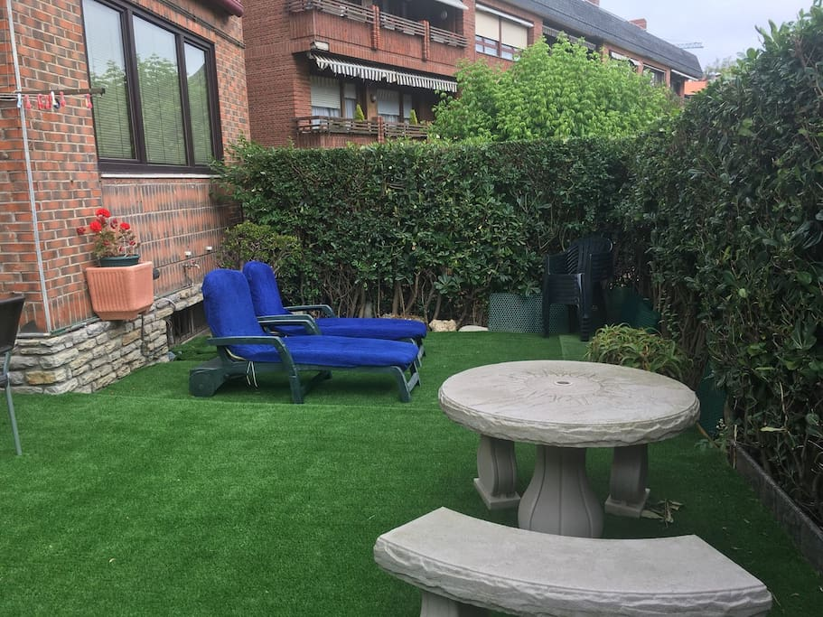 Chill out area - Garden