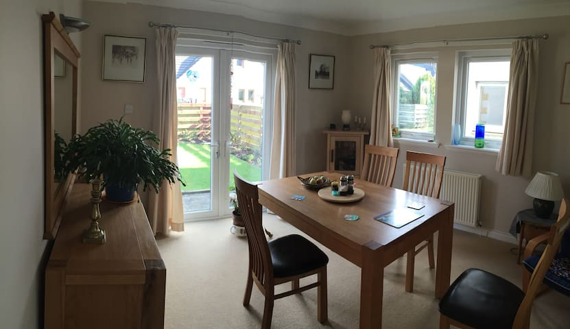 Warm, friendly home - Alyth - Casa