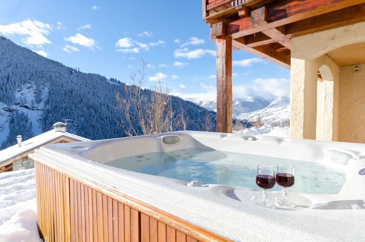 Beautiful chalet Nigritelle in National Park