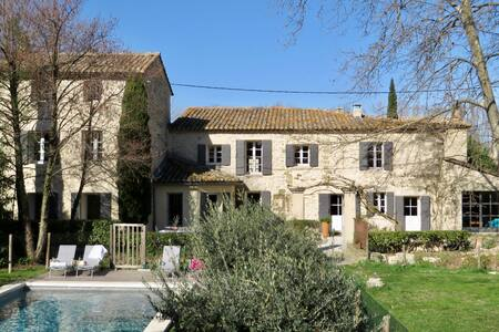 Mas provençal Isle/Sorgue - piscine 15x4 au calme - Saumane-de-Vaucluse - House