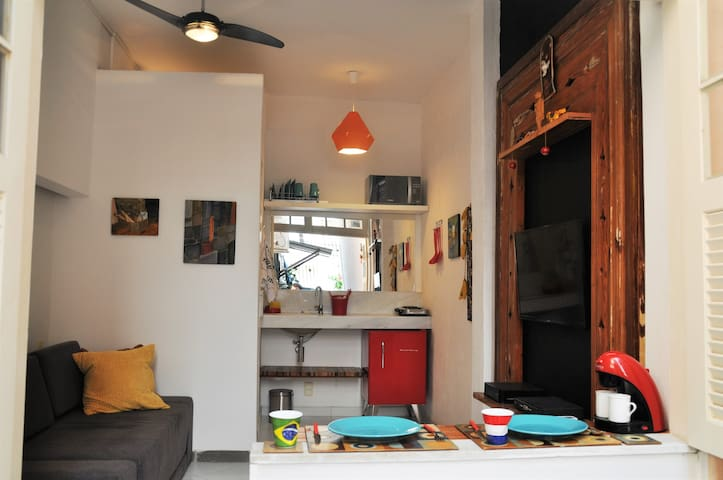 Studio | ♥ of Urca | Sugarloaf | Safe | Wifi