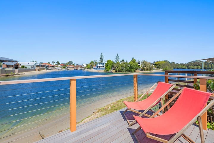 ESTUARY RETREAT - WATERFRONT GETAWAY ON THE TWEED - Tweed Heads - วิลล่า