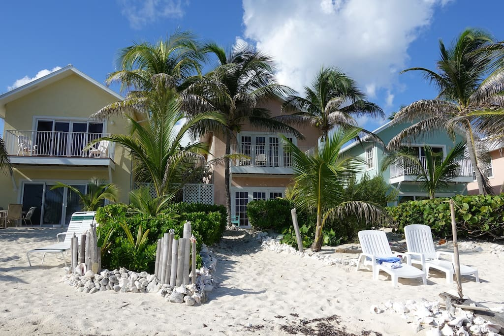 Our Complex consists of 6 identical Villas with beautiful white sand beach
