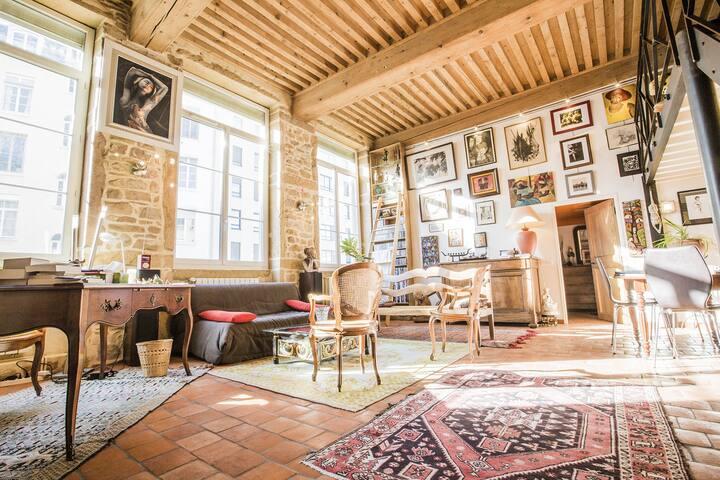 Perfect apartment Lyon Croix-Rousse - Lyon - Lejlighed