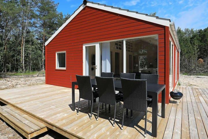 Casa de vacaciones moderna en Nordjylland cerca del mar