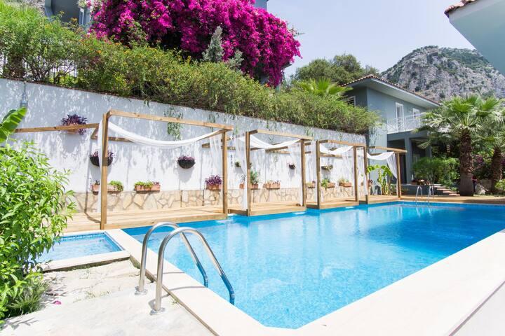 Villa Sage | 2 Bedrooms private villa in Gocek