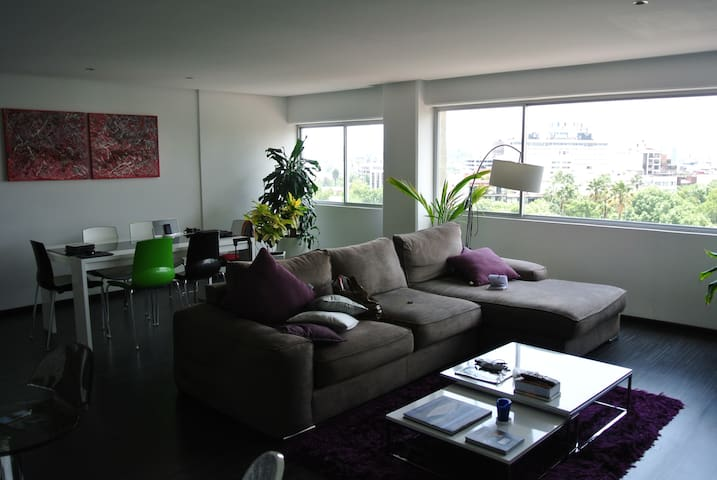 ParkView, 2-bedroom Penthouse in Condesa-Roma