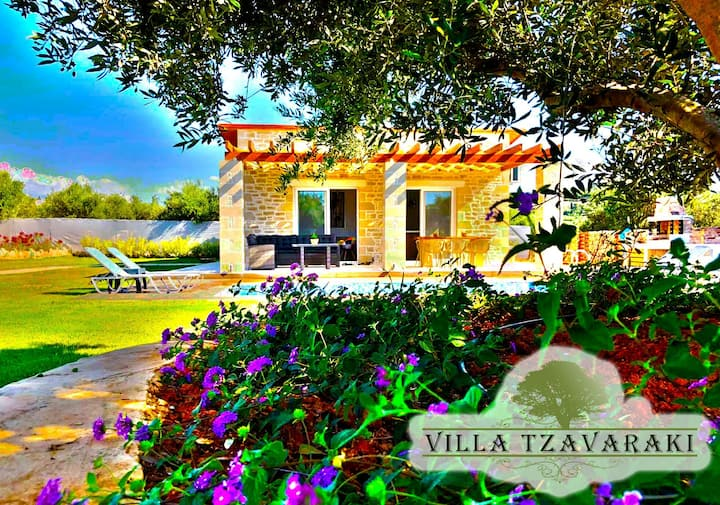 Villa Tzavaraki (800 sq.m secluded land)