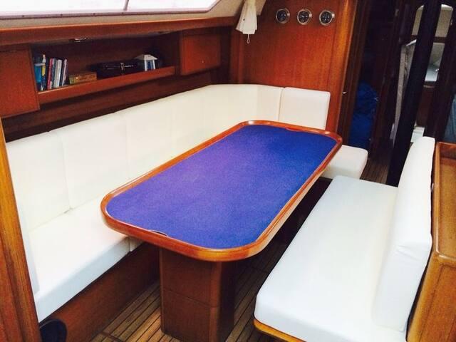 La vida en barco es mas sabrosa!