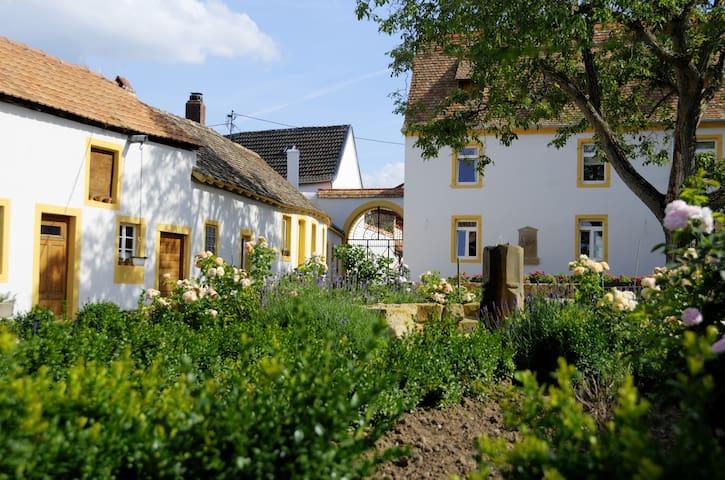 Vier-Seiten-Hof  - Kulturdenkmal - Ruppertsberg - Daire