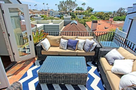 CDM 2 bedroom, 2 bathroom hideaway with waterview! - Corona Del Mar