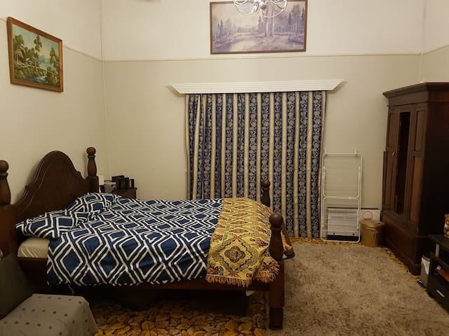 Master bedroom in MiIlaa Millaa QLD