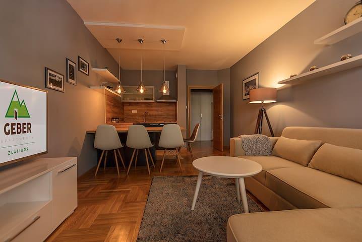 Geber Apartments- apartment 3 - Zlatibor - Wohnung