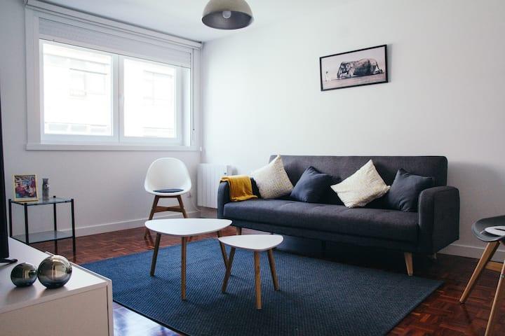 Una cómoda estancia en A Coruña