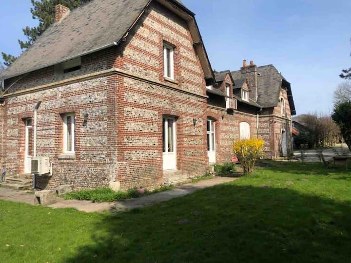 Le gite de la Renaudière - maison et jardin