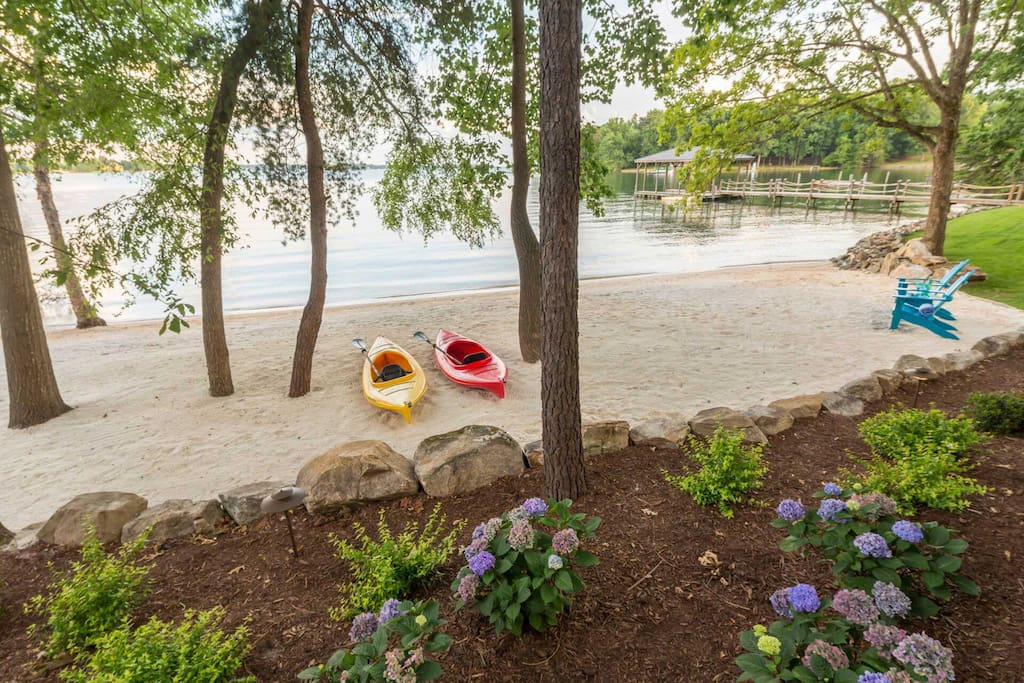 Sink your toes into the sand or head out for an afternoon of kayaking.