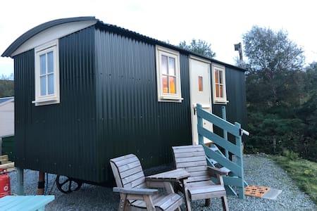 Skye View Shepherd's Hut - en-suite/self catering