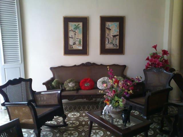 Hostal Doña Anita-Living room