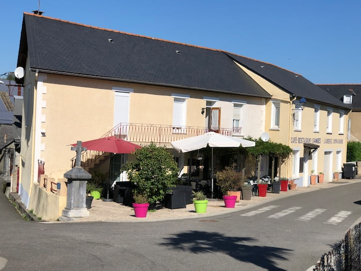 French Auberge, 3 minutes way from Lourdes.