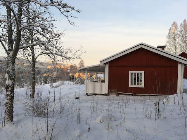Skogsängans Gammelstuga den enkla stugan