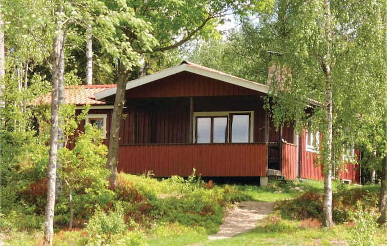 Holiday cottage with 2 bedrooms on 50m² in Simlångsdalen
