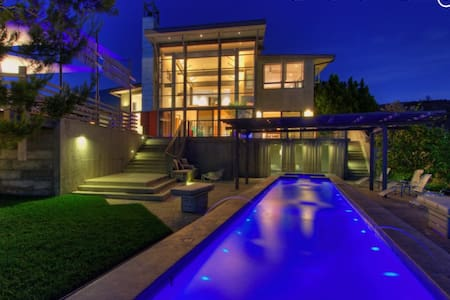 Sunset Estate with Dazzling Panoramic Views - Los Angeles - Villa - 1