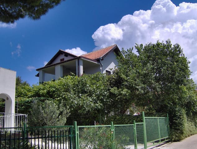 Two bedroom apartment with terrace Milna, Brač (A-14961-b)