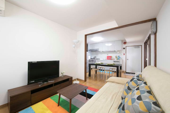 UENO 5MIN ROOM#A / Tatami 2 Rooms +1 DINING for 6 - Taito - Wohnung