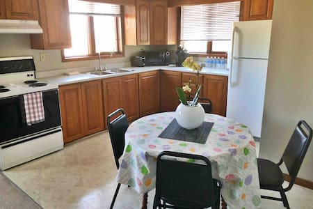 Upscale Private 2 Bedroom Apartment, South End
