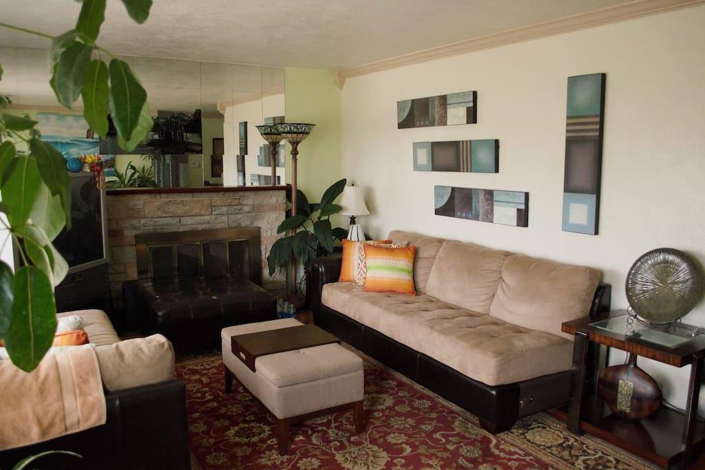 Main Living Room Area - Public Use