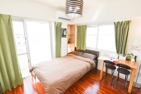 New! Clean Room! 5mins to Miebashi/Tomarin! 4B