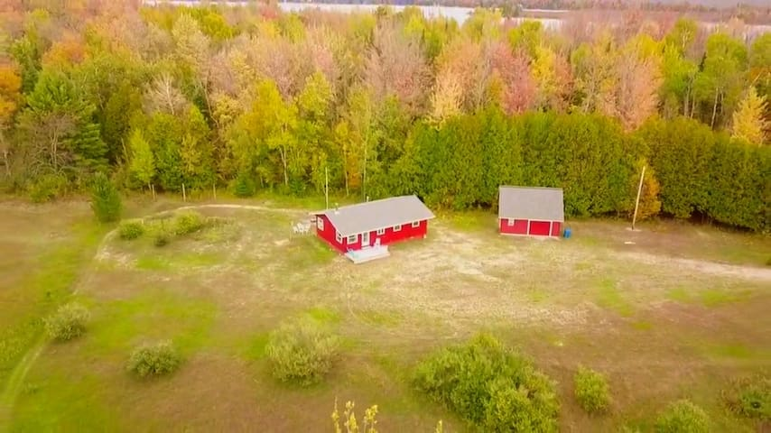Secluded Cabin on 8 acres near Sleeping Bear Dunes