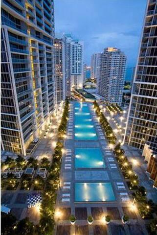 Amazing Room B/View ❤️Icon Brickell - Miami - Appartement