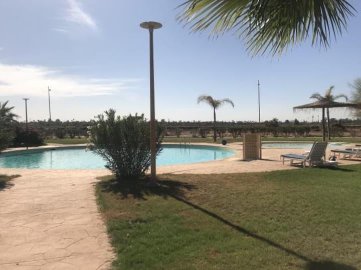 Appartement coup de cœur avec piscine/ palmeraie