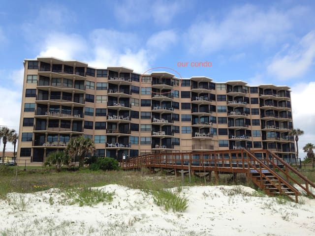 "Oceanfront ""No Drive"" Beach - Ponce Inlet - Wohnung"