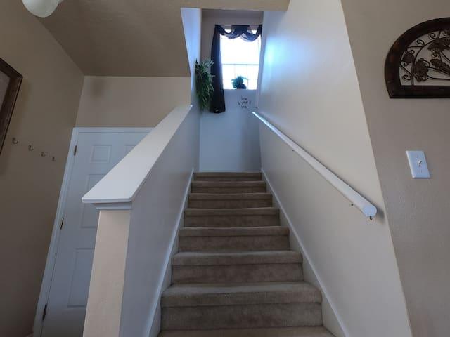 Stairs to Rooms - Villa Yuya