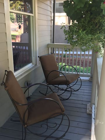 Rock the world away on our front porch!